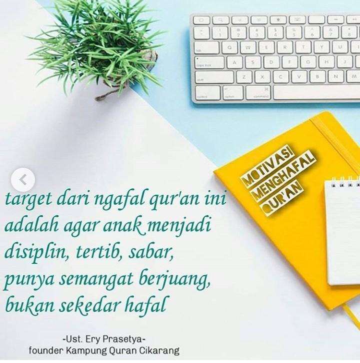 Manajemen Menghafal Qur'an