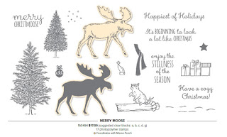 Stampin'UP!'s Merry Moose stamp set