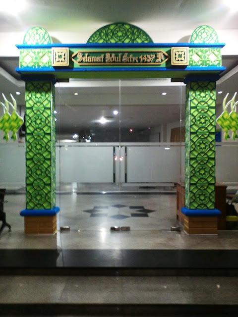 Dekorasi Ramadhan di Kantor Sederhana Murah