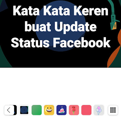 kata kata keren buat update status facebook