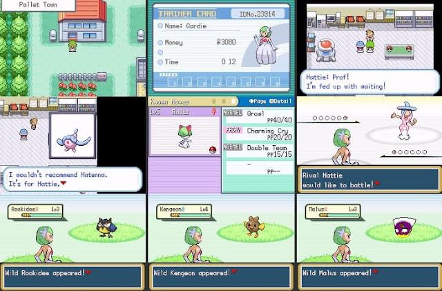 Pokemon Gardie's Adventure Rom Screenshots