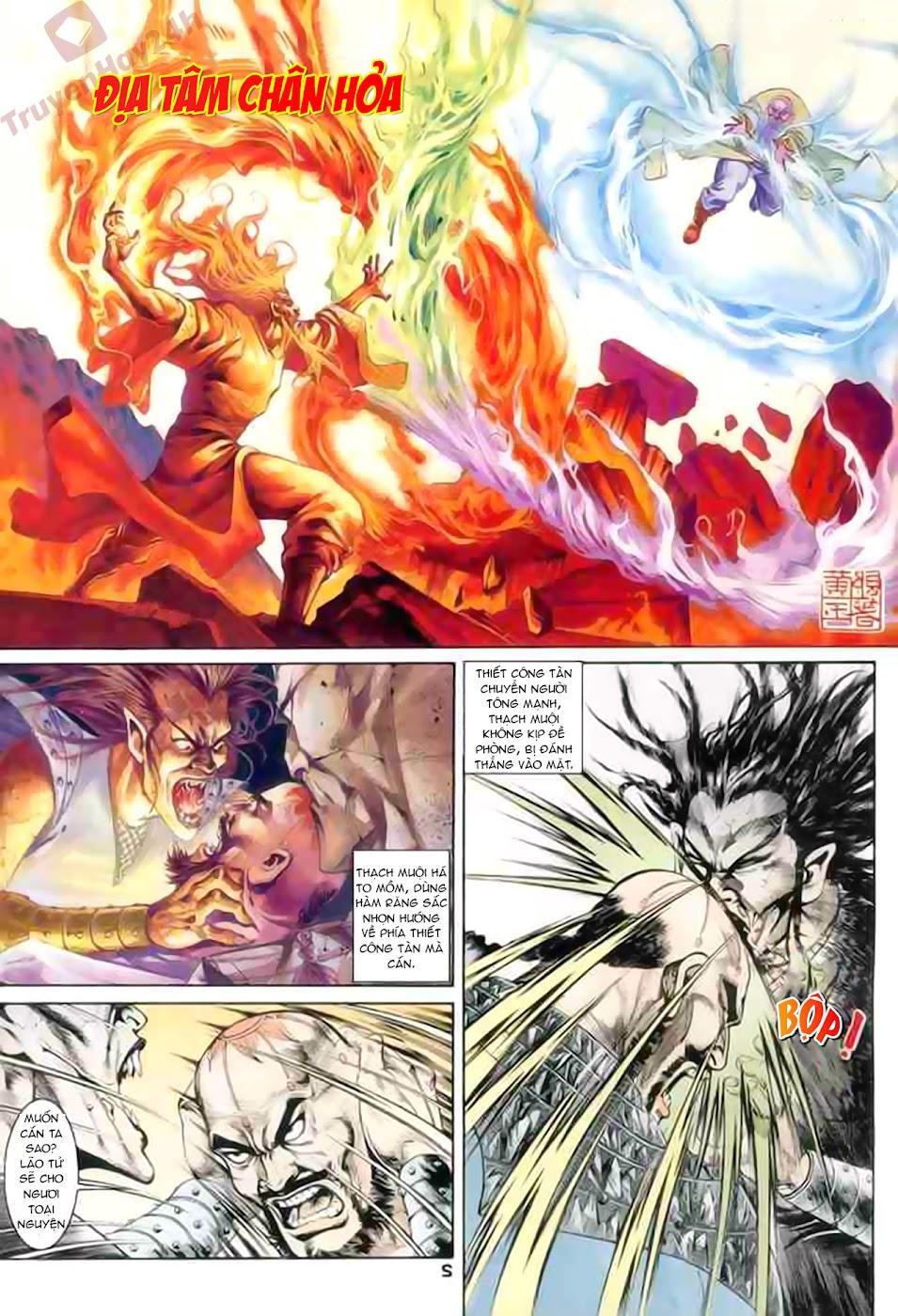 Cơ Phát Khai Chu Bản chapter 86 trang 3