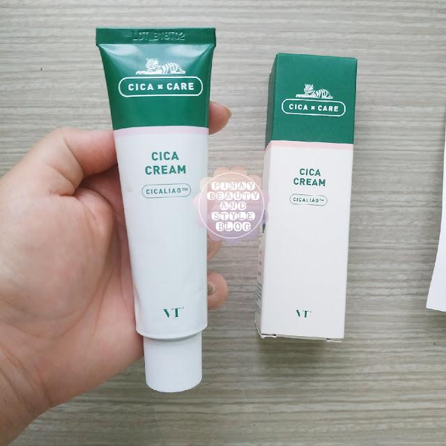 VT Cosmetics Cica Cream Review