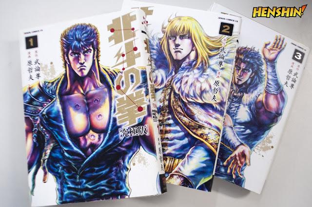 MEMÓRIA MANGÁ: Hokuto no Ken volumes 2 e 3 - Review
