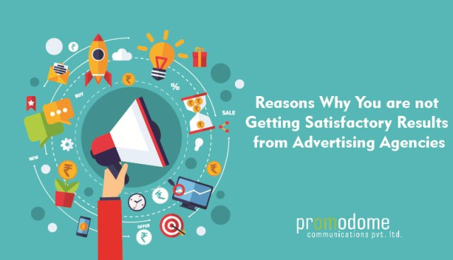 Satisfactory Results from Advertising Agencies