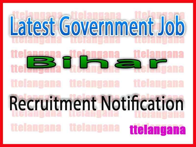 Latest Bihar Government Job Notifications