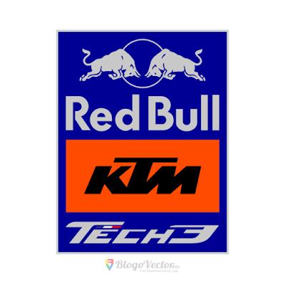 Red Bull KTM Tech3 Logo Vector