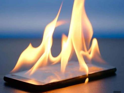 Prevent smartphone overheating