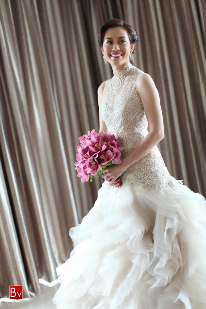 Dress of the Week + Bridal Style Inspiration - Veluz Reyes - Belle ...