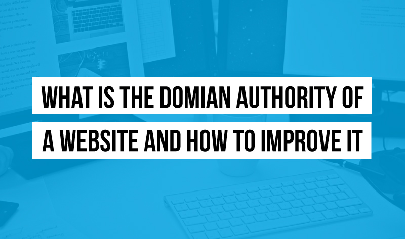 What is the Domian Authority of a Website and How to Improve it? - infographic