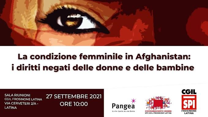 LA CONDIZIONE FEMMINILE IN AFGHANISTAN: I DIRITTI NEGATI DELLE DONNE E DELLE BAMBINE