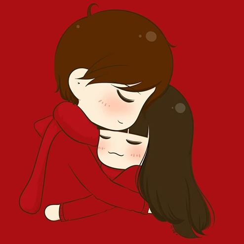 hug love DP