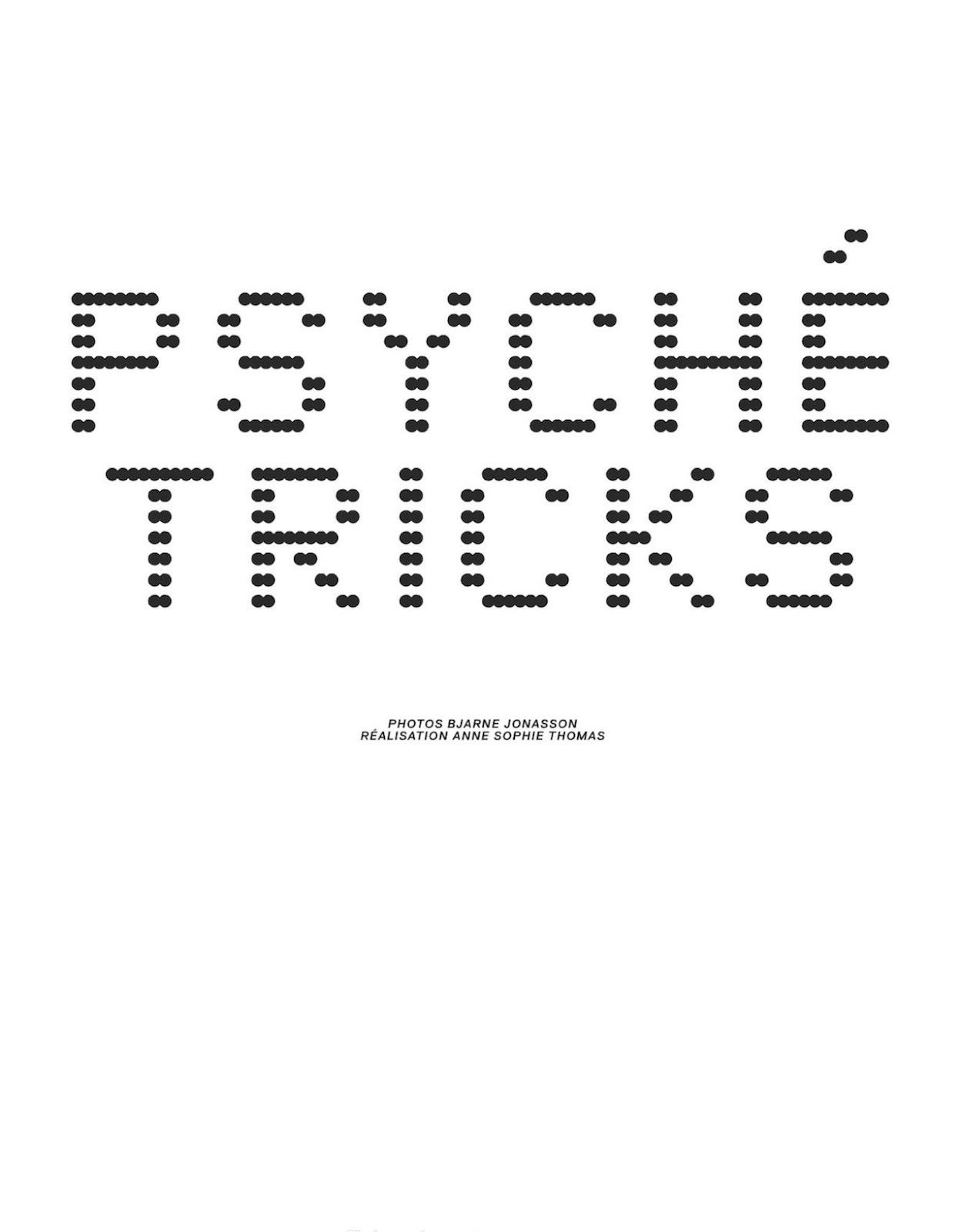 Psyche Tricks Langley Fox By Bjarne Jonasson For Jalouse September