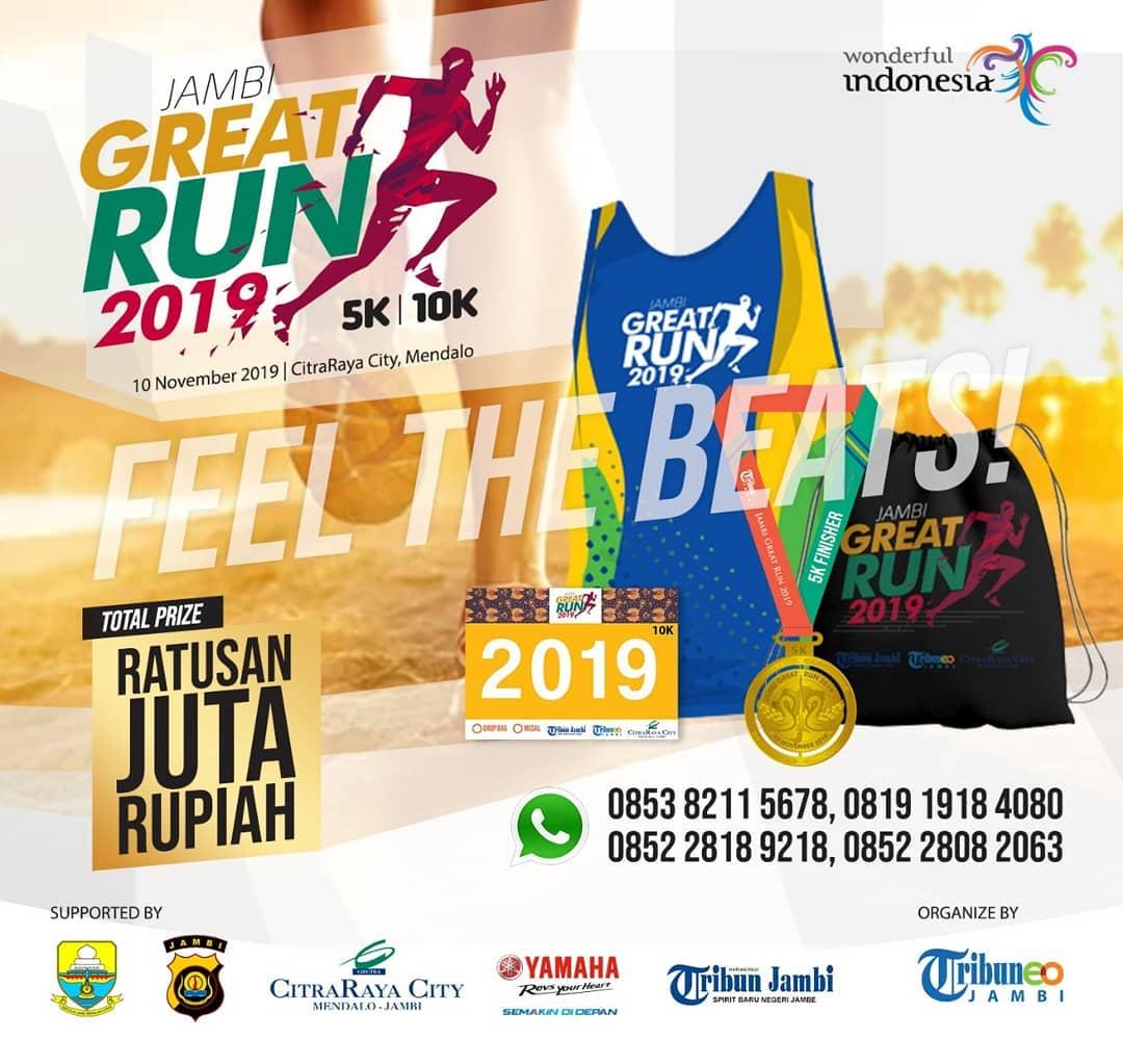 Jambi Great Run • 2019