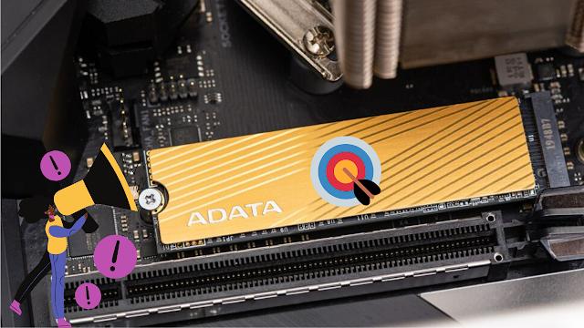 مراجعة تفاصيل محرك الأقراص الجديد Adata Falcon M.2 NVMe SSD