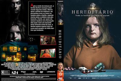 Filme Hereditário (Hereditary) DVD Capa