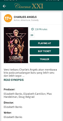 Nonton Charlie's Angels and M-Tix 5