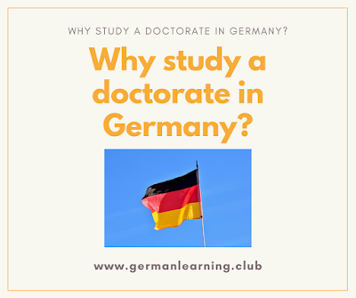 Why study a phd in Germany?