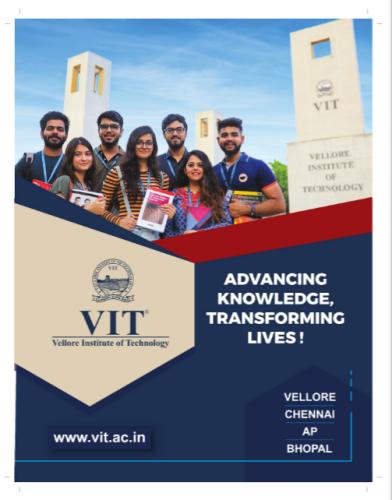 Vellore Institute of Technology (VIT) B.tech 2021