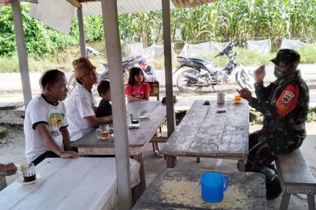 Dengan Komsos Personel Jajaran Kodim 0207/Simalungun Jalin SIlaturahmi Dengan Warga Binaan