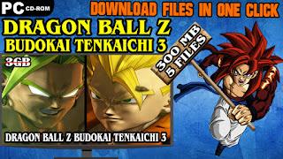 DRAGON BALL Z BUDOKAI TENKAICHI 3 PC DOWNLOAD