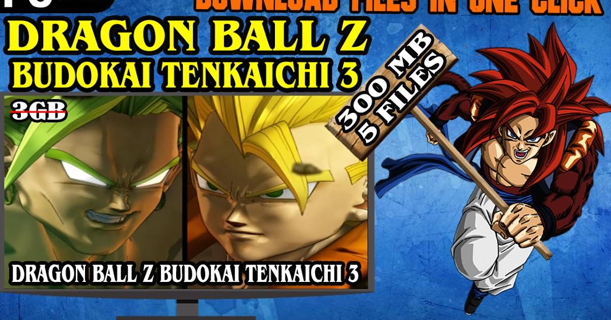 dragon ball budokai tenkaichi 3 pc download windows 7