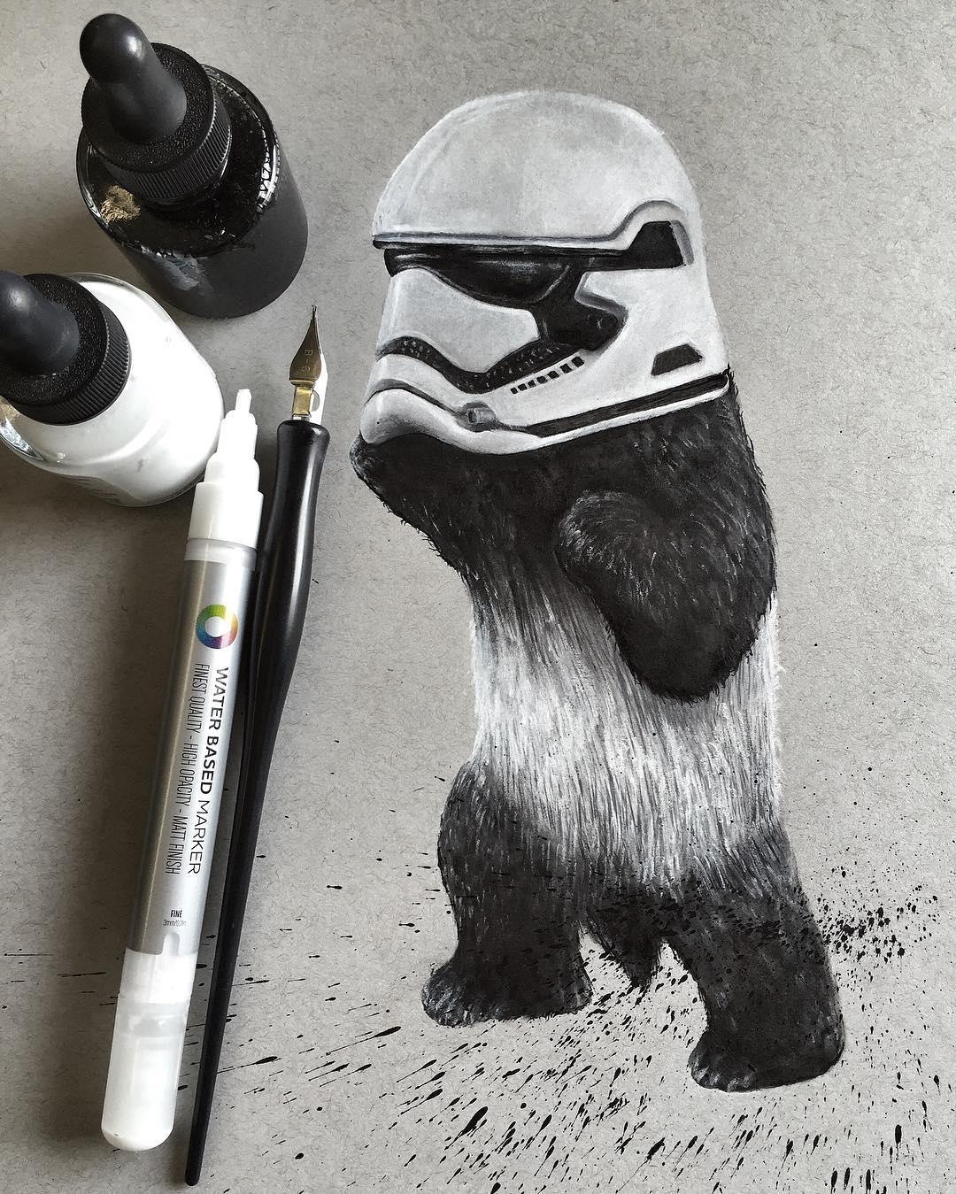 12-Panda-Dark-Side-Jonathan-Martinez-Art-of-the-Endangered-Paintings-and-Drawings-www-designstack-co