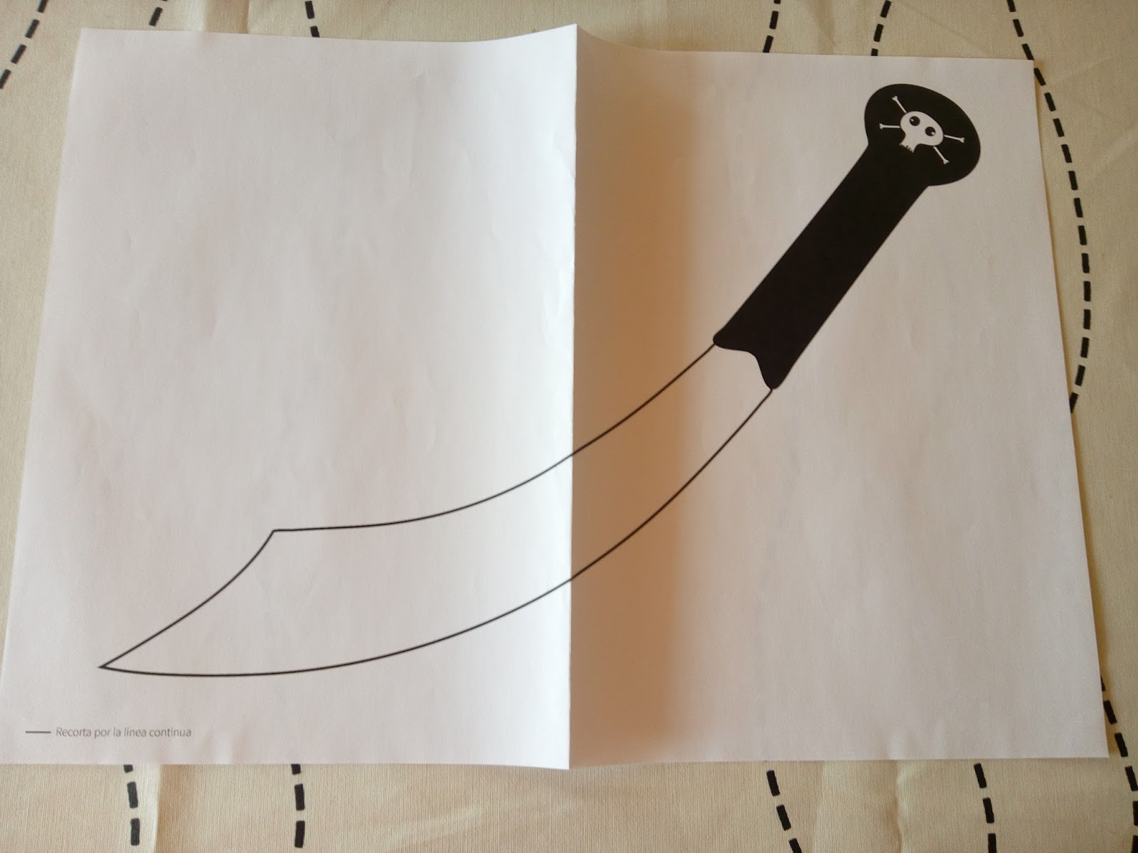 Como hacer un disfraz de pirata con Boolino