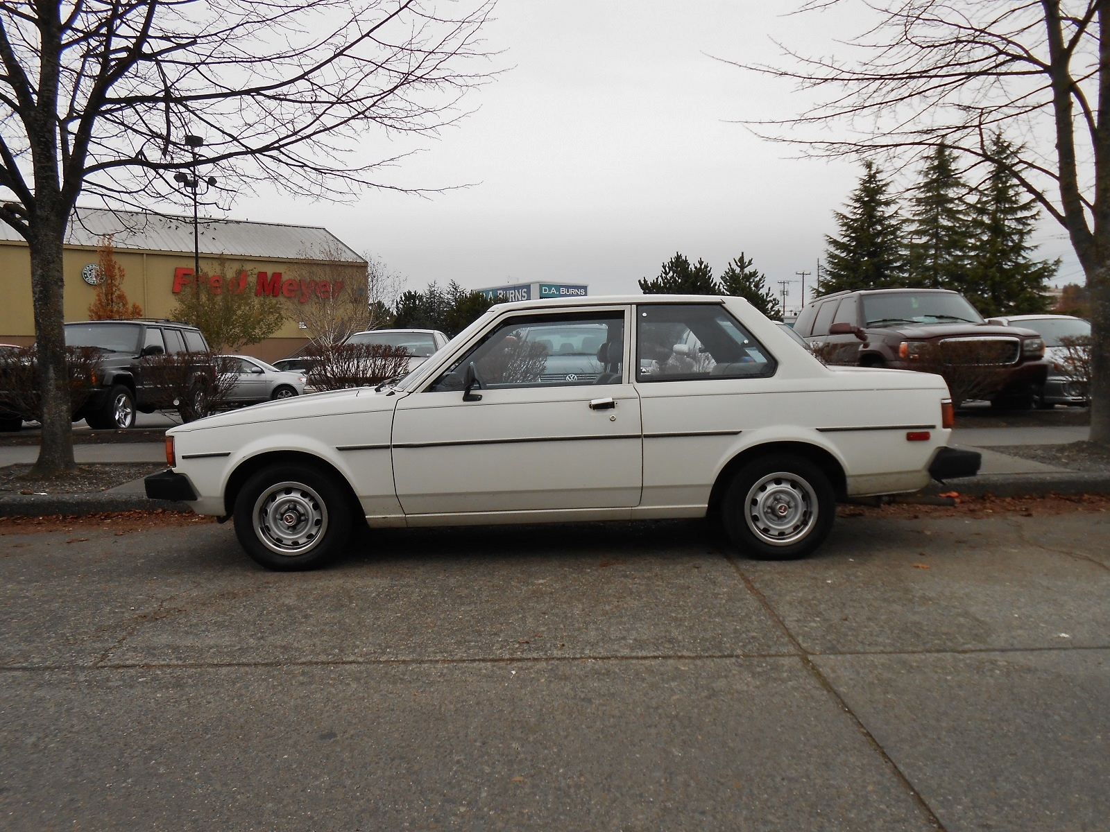 Seattle S Parked Cars 1981 Toyota Corolla