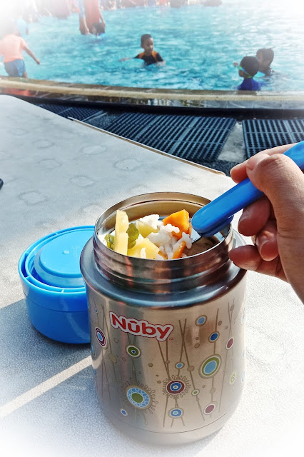 Nuby stainless steel food jar