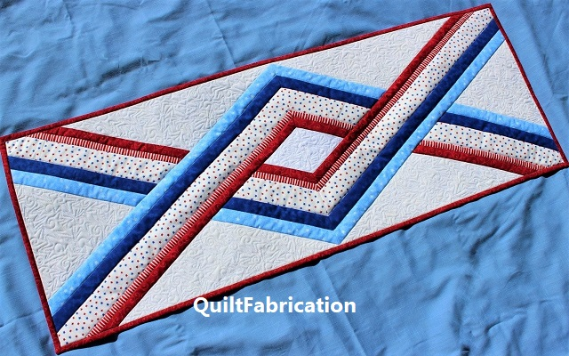 United table runner by QuiltFabrication