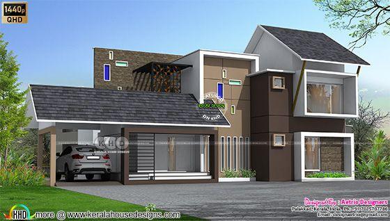2250 sq-ft modern house design