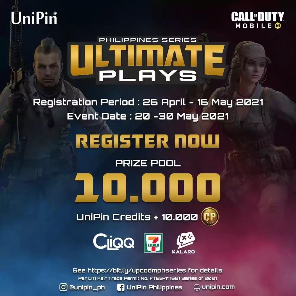 UniPin Ultimate Plays CODM