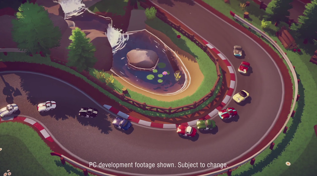 Circuit Superstars top-down racing game Square Enix E3 2019