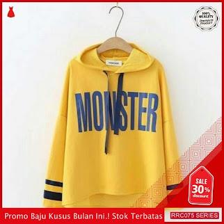 RRC075S25 Sweater Hodie Monster Wanita Terbaru BMGShop