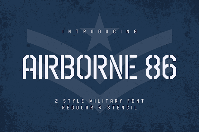 Airbone Font Free Download