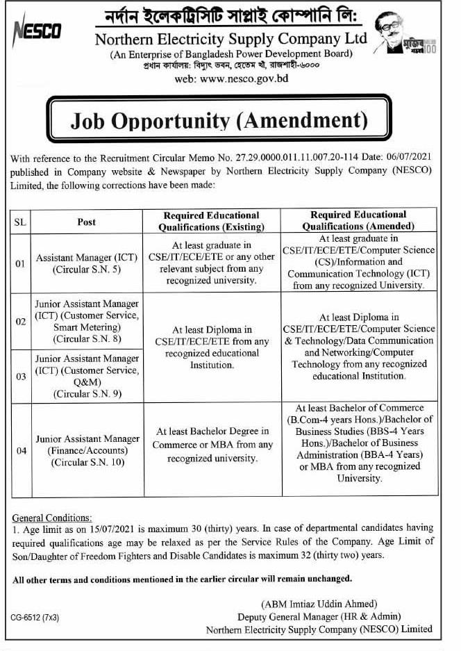 BPBD Job Circular 2021