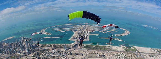 How Much Does It Cost to Do skydiving in Dubai