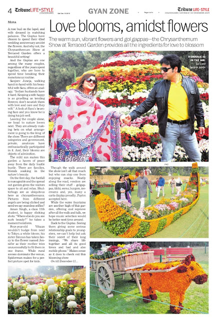 Show at Terraced Garden provides - Sanjeev Juneja