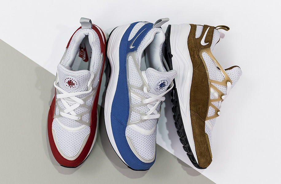 Nike Air Huarache Light in 3 neuen Colorways - Atomlabor Blog Sneaker Tipp
