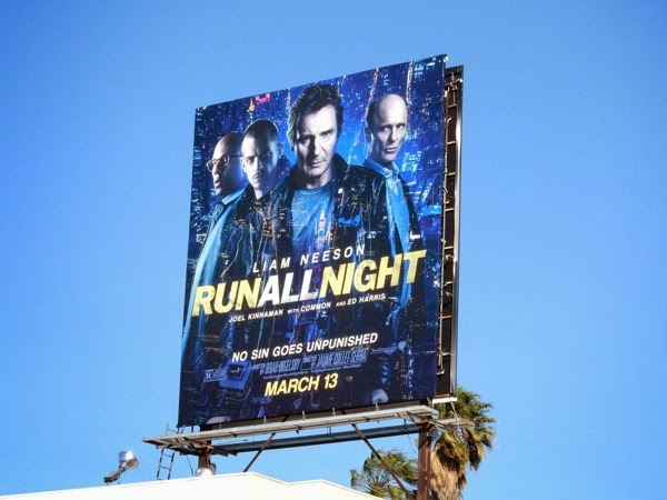 Run All Night film billboard
