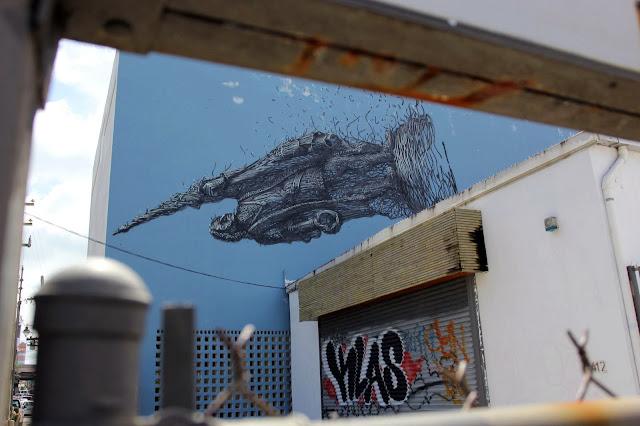 Street Art By Chinese Artist DALeast For Los Muros Hablan '13 In Puerto Rico. 5
