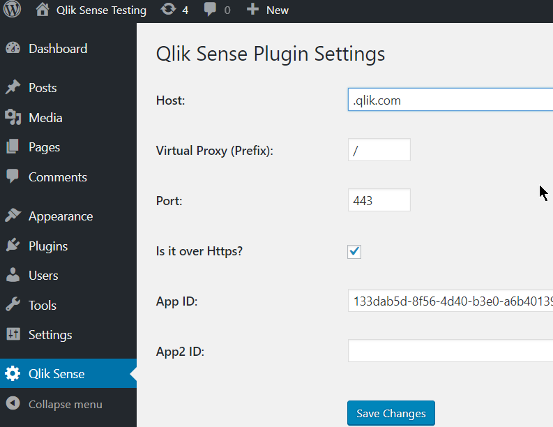 QlikView Addict: Qlik Sense Wordpress Plugin