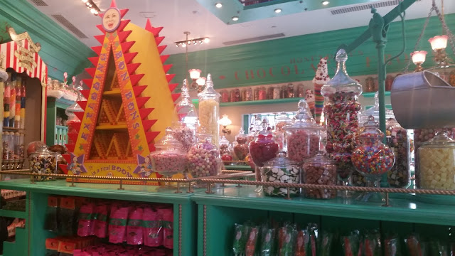 so much candy!
