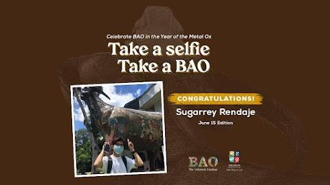 June 15 Winner : Take a Selfie TAKE A BAO