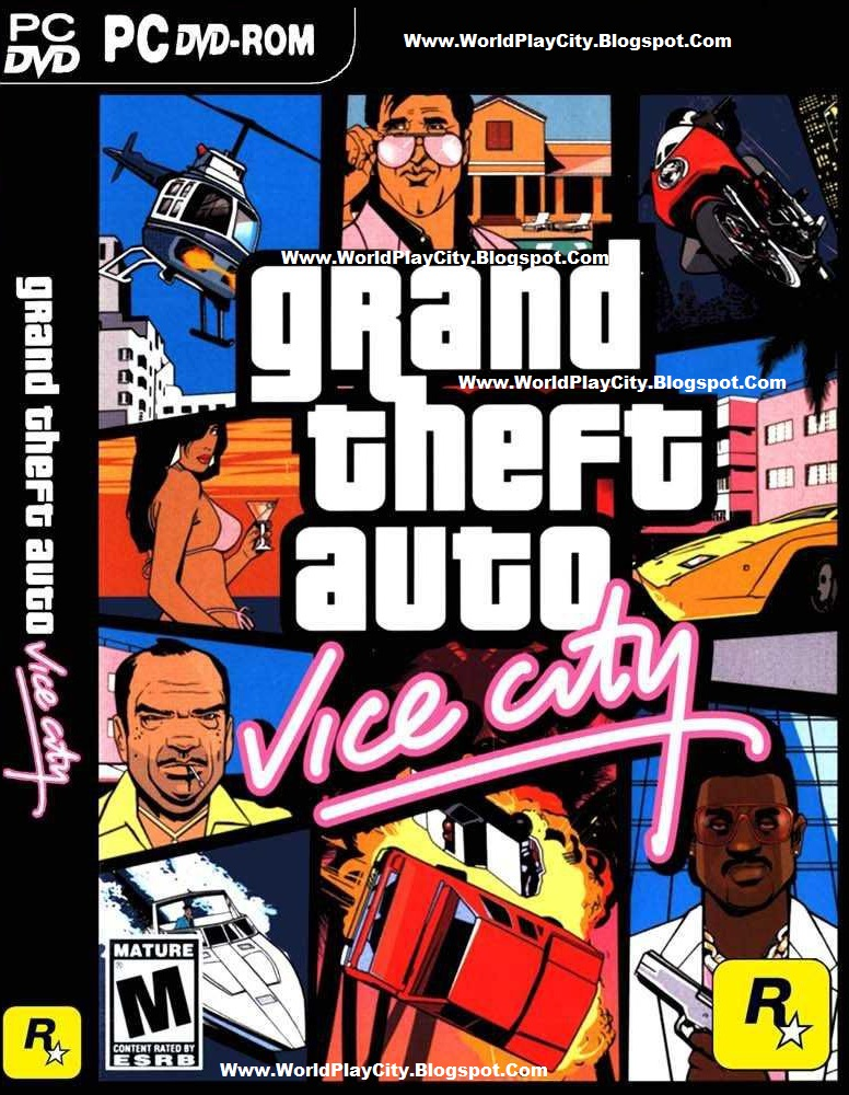 Free Download Grand Theft Auto Vice City Deluxe mod PC