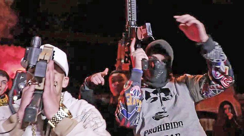 Detienen a banda acusada de arrendar armas para hacer encerronas y videoclips