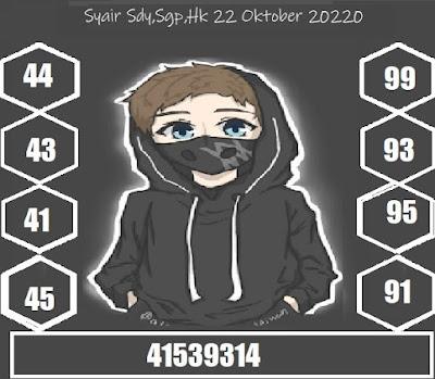Kode syair Singapore Kamis 22 Oktober 2020 217