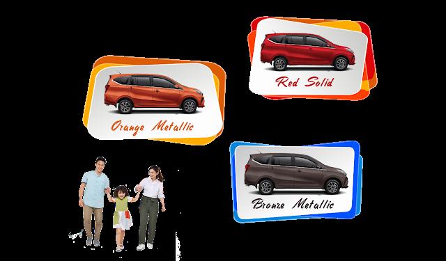 Warna Astra Daihatsu Sigra Cirebon