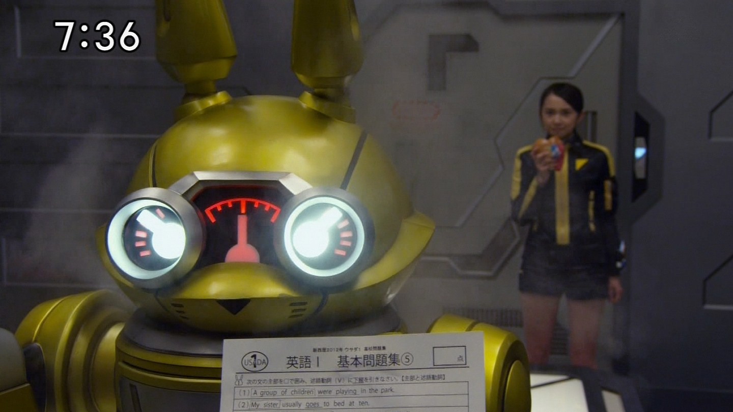 Kamen Sentai: Go-Busters Episode 9 Review: Roger Rabbit!